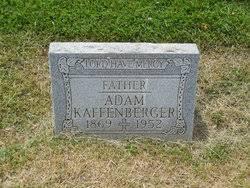 Adam Kaffenberger (1869-1952) - Find A Grave Memorial