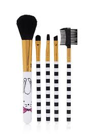 bunny graphic makeup brush set forever 21 1000115370