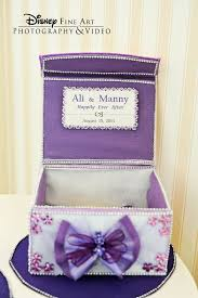 80 best disney wedding images on pinterest marriage, disney Wedding Card Box Disney cute purple card box disney wedding cardbox bow gifttable decor wedding place card holders disney