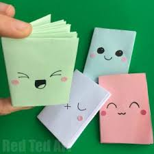 no glue paper books you may also like these diy mini notebooks from a sheet of paper