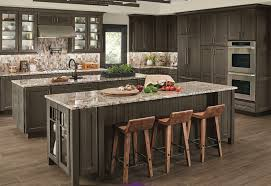 kraftmaid kitchen cabinets ruxton cherry in cannon grey