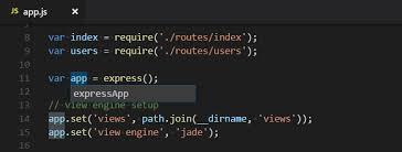 Refactoring source code in Visual Studio Code