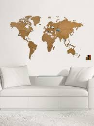 53% <b>MiMi</b> Innovations Деревянная карта мира <b>Wall Decoration</b> ...