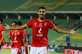 Mosimane applauds Sherif following his first hattrick with Al Ahly