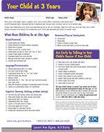 Early Childhood Development Chart Third Edition Pdf Www