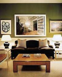 olive green interiors living room