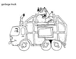 Free Garbage Truck Coloring Sheets Truck Coloring Pages Free Fire