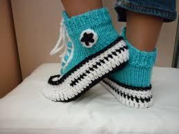Converse Crochet Pattern