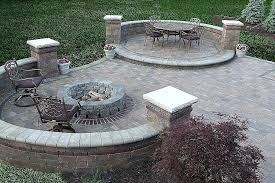 how to build a patio fire pit luxury outdoor stone fire pit foundation for outdoor fireplace