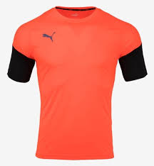 Puma Size Chart Football Shirt Details About Puma Men Football Next S S T Shirts Orange Sports Soccer Top Tee Jersey 65607602