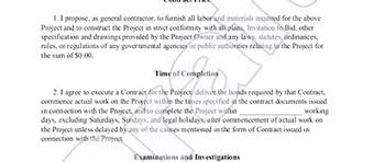 Contract Bid Proposal Contractor Proposal Template Free Unique Painting Bid Construction