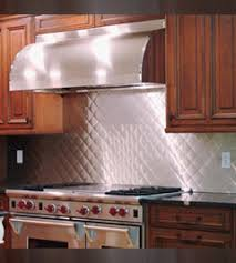 Bright Quilt Stainless Steel Backsplashes from QuickShipMetals.com & Bright Quilt Stainless Steel Backsplash Adamdwight.com