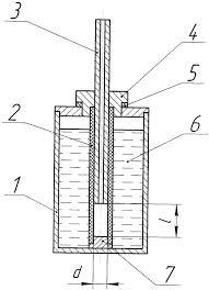 регулируемая контрольная течь патент РФ Кожевников  1 ил регулируемая контрольная течь патент № 2386936