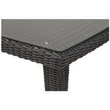 luxor gray 5 piece patio set el