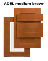 ikea adel medium brown glass door front for kitchen cabinets 18 x 30 new in box