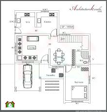 single floor 4 bedroom house plans awesome architecture three two y plan ground kerala style architect