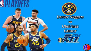 Denver Nuggets vs Utah Jazz Full Game 7 Highlights | September 1