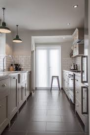 Galley Kitchen Tips: Keep both ends of the galley kitchen open to bring in  more