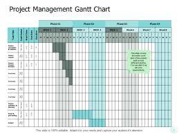 Professional Gantt Chart Project Management Gantt Chart Ppt Powerpoint Presentation
