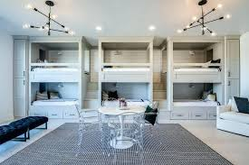 wonderful built in bunk beds gray side by side built in bunk beds with storage drawers