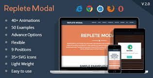 How to create a modal box. Free Download Replete Modal Nulled Latest Version Free Get Downloader
