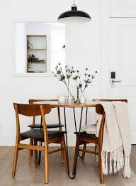 Image Vintage Minimal White Dining Room With Wood Furniture Pinterest Awesome Farmhouse Dining Room Design Ideas Home Dining Room