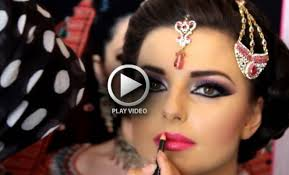 most simple asian bridal makeup video tutorial with easy steps
