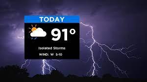 Severe Thunderstorm Warnings In Effect ...