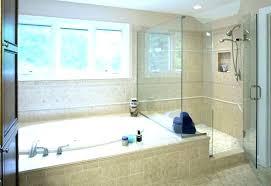 inspirational corner bathtub shower com 2 person tub with combo
