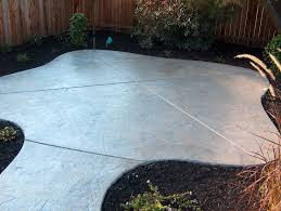 stamped concrete patios pros and cons fresh 8 best concrete banding images on collection