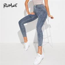 romwe casual solid high waist shorts womens clothing