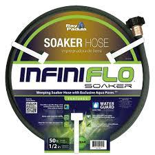1 garden hose. Ray Padula InfiniFlo 1/2 In. Dia X 50 Ft. Soaker Garden Hose 1