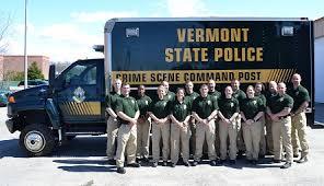 Crime Scene Search Team Vermont State Police
