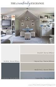office paint colors. Office/Craft Room Paint Color Palette (Paint It Monday). Office Colors M