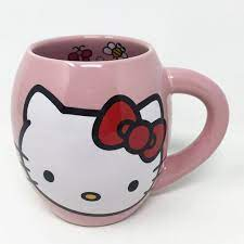 How's your shopping experience on this page? Hello Kitty Dining Hello Kitty Oval 8 Oz Pink Coffee Mug 1862 Large Poshmark