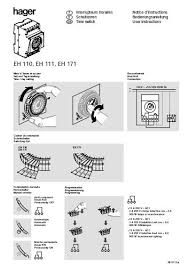 hager eh111 24hrs time timer switch (end 1 21 2020 10 15 pm) Automotive Wiring Diagrams at Hager Eh 111 Wiring Diagram