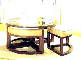 coffee table with seating underneath round coffee table ottomans underneath pedalbritaininfo coffee table with ottoman seating