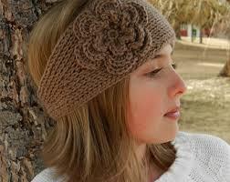 Free Knitted Headband Patterns Classy New Free Knit Headband Pattern With Flower Tunisian XHRCZAD