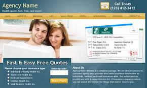Online Health Insurance Quotes Stunning Insurance Websites For Agencies And Brokers Quotit