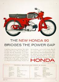 vintage honda motorcycle ads. 1964 honda 90cc vintage motorcycle ads