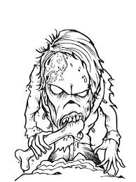 Free Printable Zombies Coloring Pages For Kids Hoots Projects