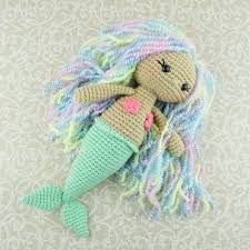 Free Crochet Patterns Adorable Aurora Mermaid Amigurumi Pattern Amigurumi Today