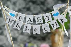 Welcome Home Baby Boy Banner Baby Welcome Baby Shower Cake Baby Boy Or Girl Baby Shower