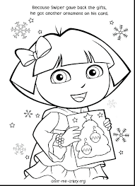 Coloring Pages Dora Coloring Pages Printable Nick Jr With Friends