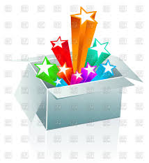 Surprise Images Free Open Gift Box Surprise Concept Vector Illustration Of Objects