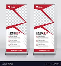 Sample Pull Up Banner Designs Creative Roll Up Banner Design Template
