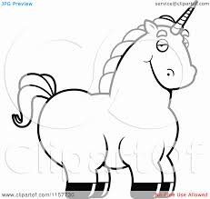 Small Picture Cartoon Unicorn Coloring Pages Coloring Pages