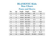 Blank Nyc Size Chart Blank Nyc Jeans Size Chart The Best Style Jeans
