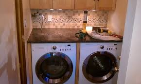 Under counter washer dryer Miele How To Hide Hoses And Wires Washer Dryer Under Counter Washing Machine Installupdate And Done Countertop Over Washerdryer Pinterest How To Hide Hoses And Wires Washer Dryer Under Counter Washing