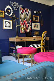 colorful home office. Beautiful Colorful Home Office By Haneen\u0027s Haven_